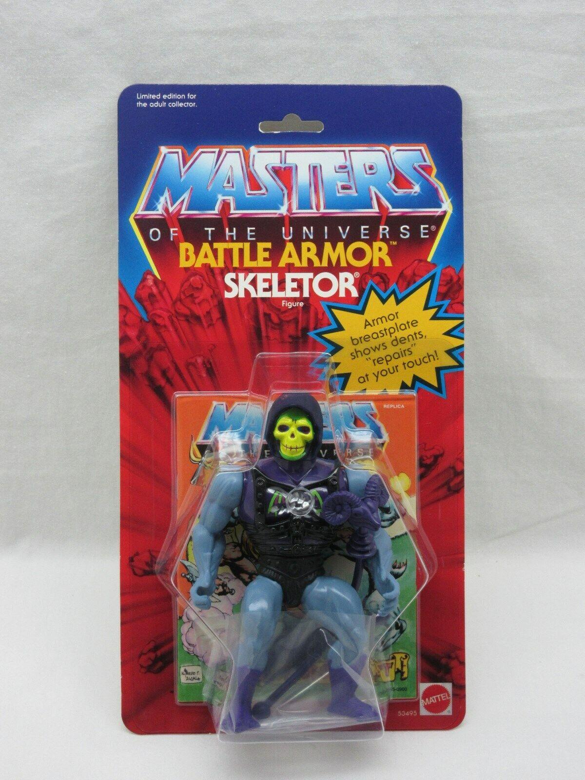 Motu, Commémorative BaGröße Armure Skeletor, Moc, Masters de Univers, He-Man