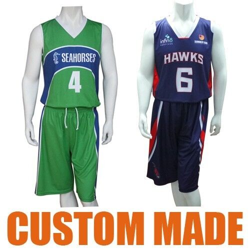 334bbb29940 Custom Made Basketball Tops Shorts Uniforms Jerseys Singlets Fully  Sublimated for sale online