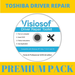 Details about TOSHIBA Drivers Software Repair Restore Reset CD DVD Windows  10 8 7 Vista XP