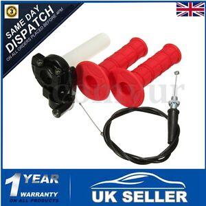Pit-Dirt-Bike-Quick-Action-Throttle-Grip-Twist-Cable-90-110cc-125cc-ATV-PITBIKE
