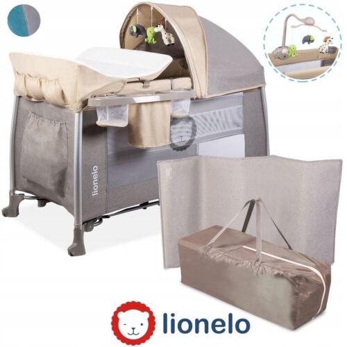 Lionelo Simon Kinder-Reisebett Baby-Bett Babybett Kinderbett Klappbett Laufstall