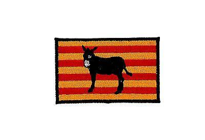 Flaggen Aufn/äher Patch Katalonien Esel Fahne Flagge