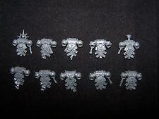 10 Blood Angel Tactical Squad Backpacks (Bits)