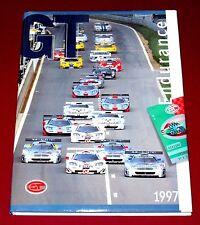1997 FIA GT ENDURANCE YEARBOOK - McLaren F1 GTR - M-B CLK GTR - Hardbound w DJ