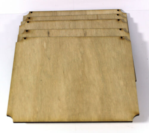 200mm x 160m Plywood Plaque shapes with holes blanks crafts 200mm x 80mm
