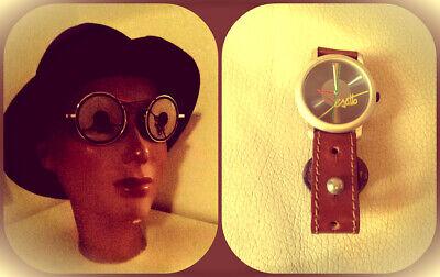 Occhiali Da Sole Esatto! + Orologio Pubblicitario Da Polso - Vintage 1989 Prezzo Pazzesco