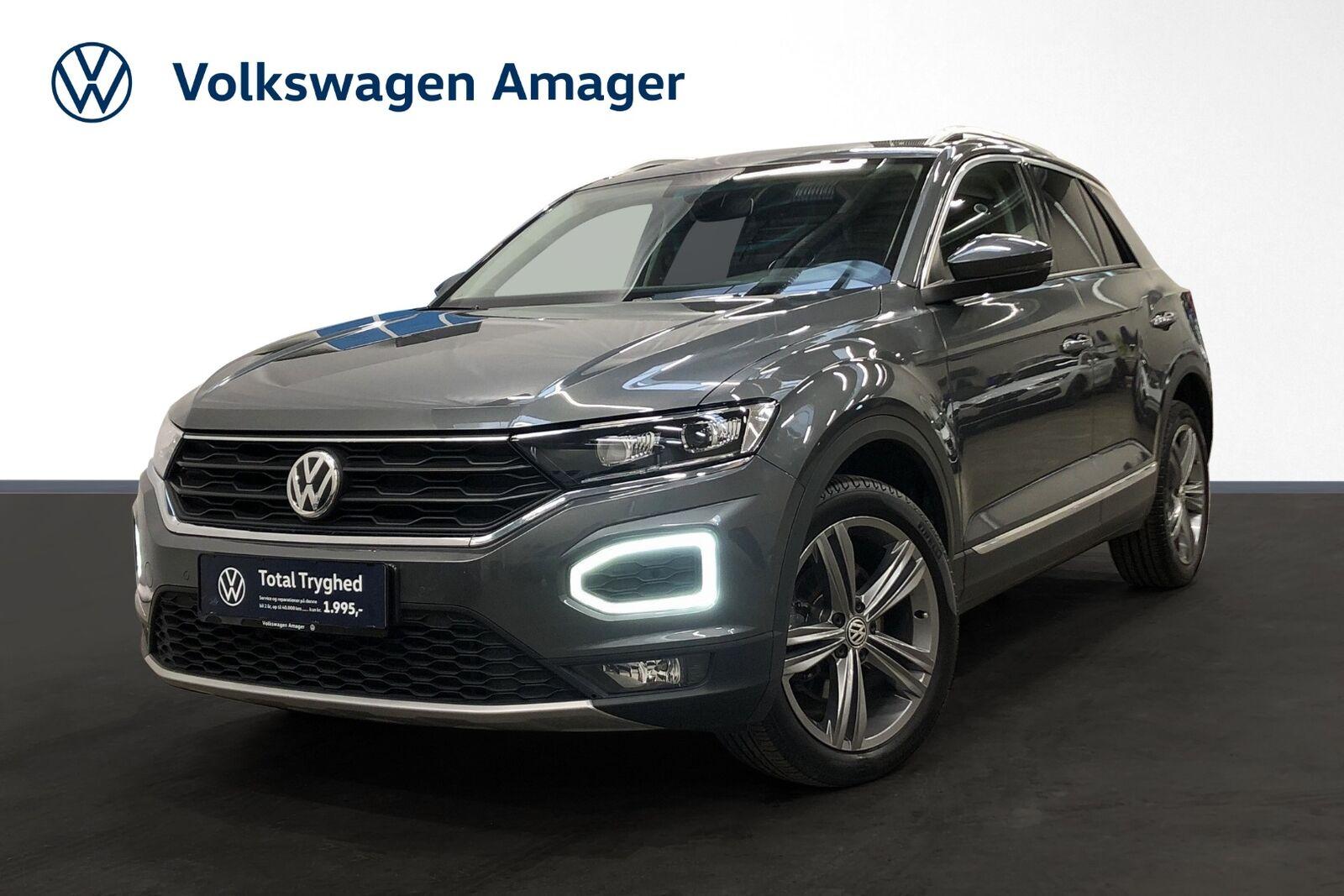 VW T-Roc 1,5 TSi 150 Sport DSG 5d - 289.900 kr.