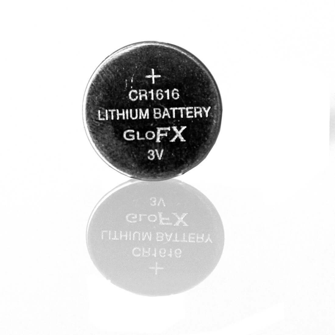 100 pack CR1616 Batteries Great for LED Gloves, Orbits, Small Electronics