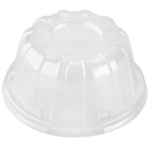Dart 12HDLC, Translucent High Dome Plastic Cup Lid, 1000/Cs