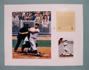 New-York-Yankees-ROGER-MARIS-1994-MLB-Baseball-11x14-Lithograph-Print
