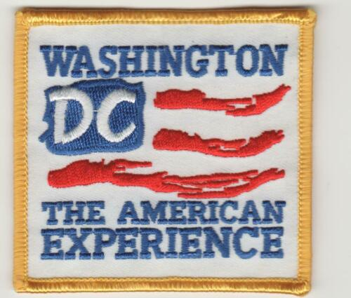 Washington DC The American Experience Patch