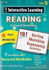 Interactive Learning: Reading Fiction & Nonfiction, Grade 5 by Teacher Created Resources (CD-ROM, 2013)