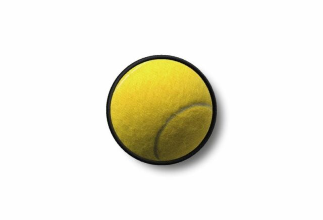 Patch Badge Embroidered Border Printed Morale Applique Tennis Ball