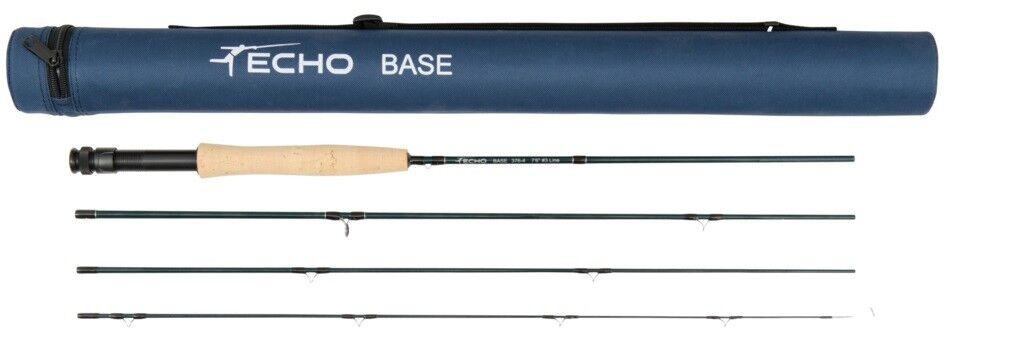 Echo Base 480-4 480-4 Base Fly Rod, 8' 4wt 4pc - NEW b1ffab