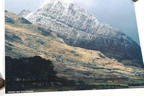 Panoramic Fotocrag Poster NoFP10 Unusual Gift Idea Tryfan East Face Gwynedd