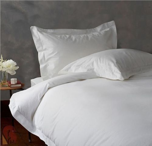 1000 TC EGYPTIAN COTTON BEDDING 3 PCS FLAT SHEET WHITE color