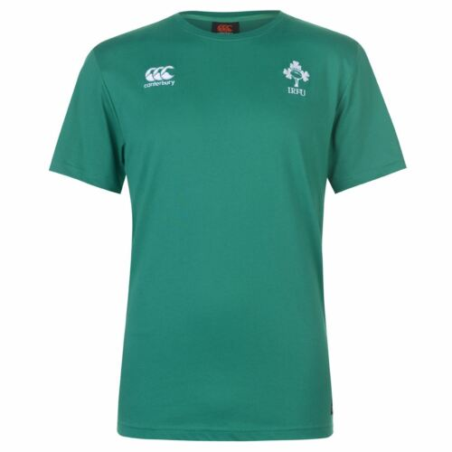 Canterbury Mens Ireland Rugby Basic T Shirt Short Sleeve Tee Top Crew Neck