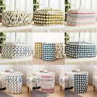Cotton Linen Foldable Laundry Clothes Quilt Toy Storage Bag Basket Box Organizer