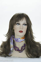 Light Chestnut Brown Brunette Long Medium Straight Wigs
