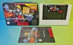 Killer-Instinct-SNES-Super-Nintendo-AUTHENTIC-Box-Game-Manual-Complete