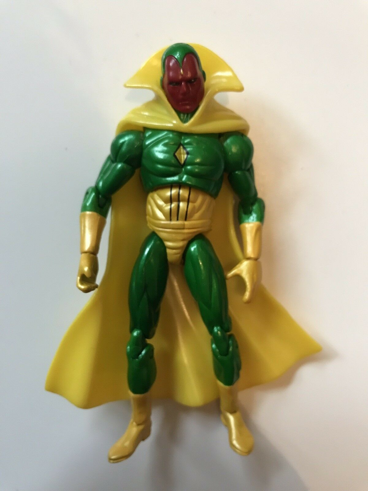 Marvel Universe Infinite Legends Figure 3.75  Vision .J3 READ DESCRIPTION