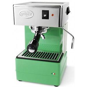 Quick-Mill-820-Espresso-Cappuccino-2-Cups-Machine-Coffee-Thermoblock-Green-220V