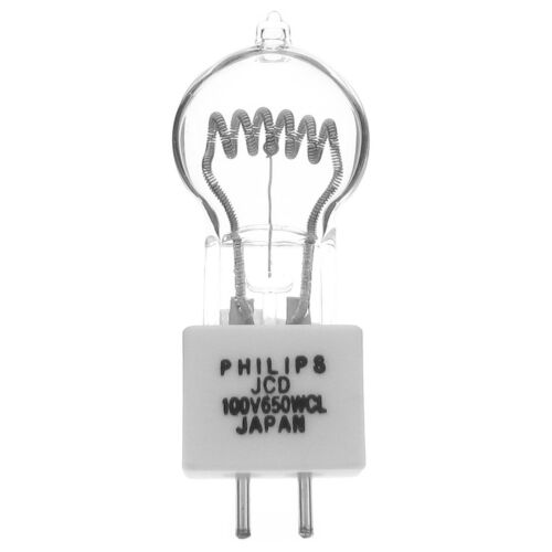 JCD 100 V 650 W CL G6.35 Lámpara Bombilla Philips 9061060 Noritsu minilaboratorio JCD 100 V 650 W