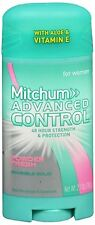 Mitchum Women Advanced Deodorant Invisible Solid Powder Fresh 2.70 oz (2 pack)