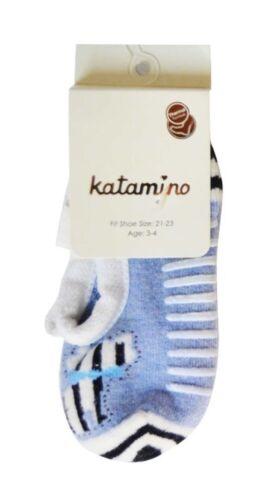 Kinder Thermo Frottee ABS Hausschuhe Kindergarten Krippe Socken 18-26 Slipper