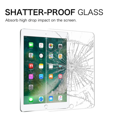 """For New iPad Pro 12.9/"""" 2nd 2017 Tempered Glass Screen Protector HD Clear 9H Hard"""