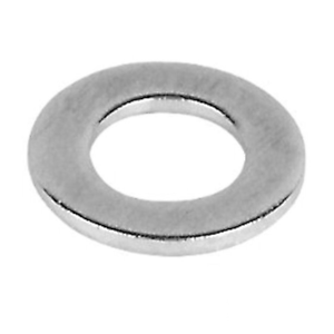 M8 / 8mm WASHERS DIN 125 (SIMILAR TO BS4320 FORM A) A2 STAINLESS STEEL