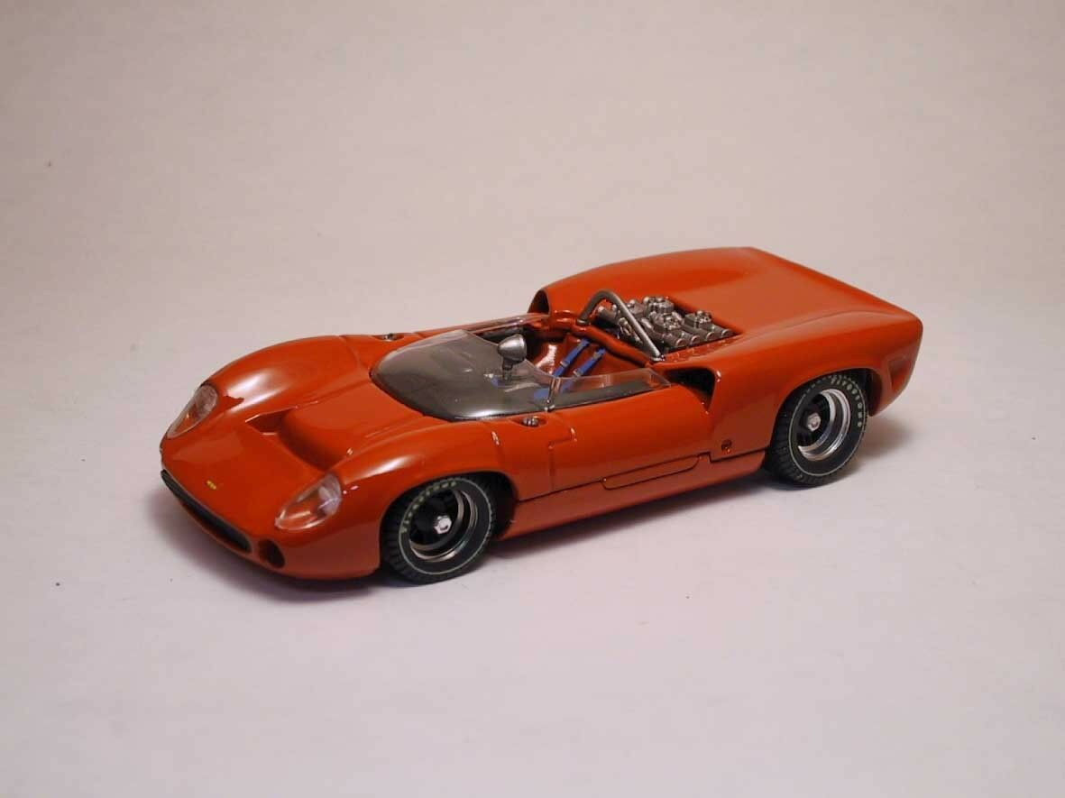 Lola t70 Spyder PROVA 1965 rouge 1 43 Model Best models