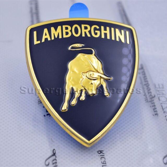 Genuine Lamborghini Murcielago Gallardo Front Hood Emblem Badge
