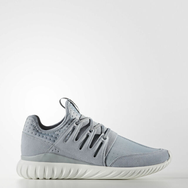 san francisco famous brand reasonably priced NEW Men's Adidas Tubular Radial Shoes Size: 9.5 Color: Gray