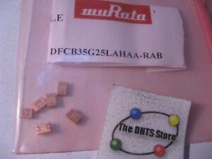 DFCB35G25LAHAA-RAB-muRata-5-25GHz-Dielectric-Filter-SMT-NOS-Qty-6