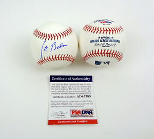 Joe Biden 46th President 2020 Signed Autograph MLB Baseball PSA/DNA COA