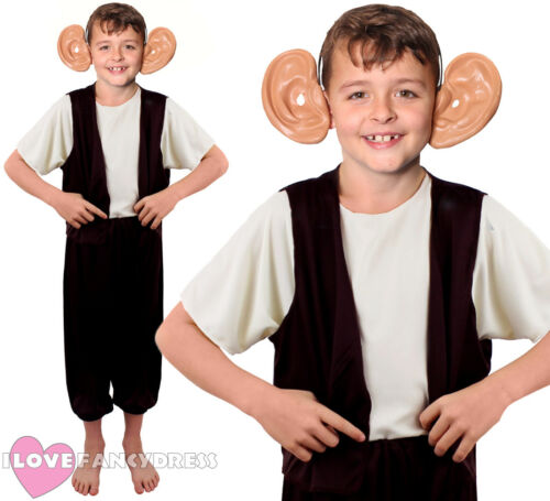 CHILD GIANT COSTUME BIG EARS SCHOOL BOOK WEEK FANCY DRESS CHARACTER BOYS GIRLS