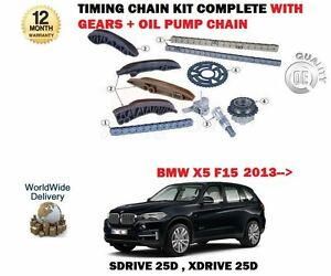 Details about FOR BMW X5 SDRIVE 25D XDRIVE 25D 2013-> TIMING CHAIN + GEARS  + OIL PUMP KIT