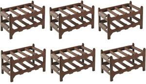 Weinregal SAAR 52x52cm massiv Holz stapelbar erweiterbar ~34 Weinflaschen System