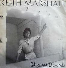 "7"" 1981 FRENCH PRESS ! KEITH MARSHALL (= HELLO ) : Silver And Diamonds"