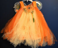 Pottery Barn Kids Sunflower Tutu Costume Fairy Dress 6-12 Months