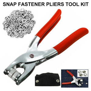 Snap Fastener Tool ... With 108 Piece For 27 Complete Male//Female Snaps