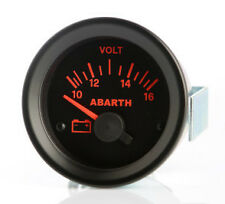 Manometro Strumento Road Italia Abarth Delta Integrale Voltmetro 10-16 Volt 52mm