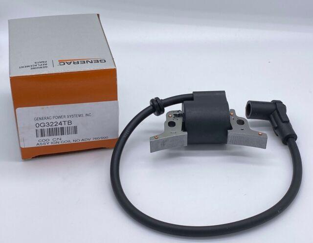 Genuine Generac 0H43470136 Ignition Coil Fits iX2000 005793-0 OEM