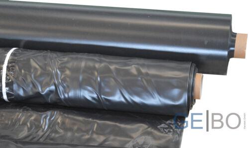 Teichfolie schwarz 0,5mm 5 x 6 Meter Teich Folie 0,5 mm 6,00 x 5,00 Meter 6x5