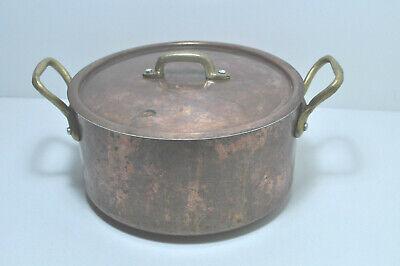 Alter Kupfer Kochtopf Nr.2