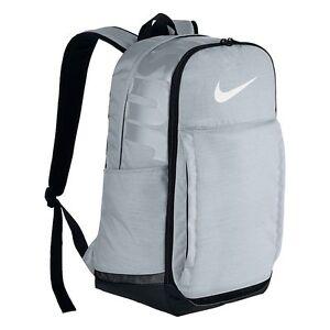 Image is loading NWT-NIKE-Brasilia-7-Backpack-Pure-Platinum ccaa46557d2da