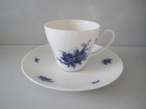 Rosenthal ROMANZE  in Blau KAFFEETASSE mit UNTERTASSE 2tlg Cup /& Saucer