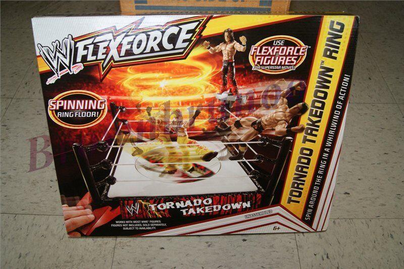 Wwe Flexforce Tornado Takedown Anello rossoante Anello Paviessito Wrestling