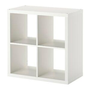 Wandregal ikea weiß  IKEA KALLAX Regal weiß (77 x 77cm) Kompatibel mit Expedit ...